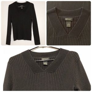 Lane Bryant, 14/16 | Cable Knitted V-Neck Sweater
